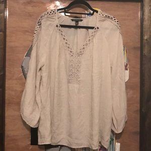 -ZAC & RACHEL- light stone BoHo blouse